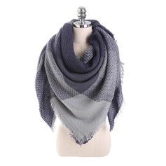 Bloque de color Cuello/atractivo/Clima frío Bufanda