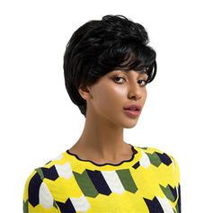 Loose Wavy Human Hair Human Hair Wigs