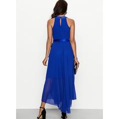 Einfarbig Ärmellos Shift Maxi Freizeit/Elegant Kleider