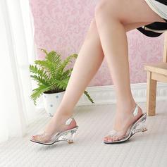 Femmes PU Talon compensé Escarpins Compensée avec Autres chaussures