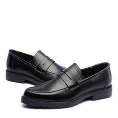 23ddd0856eee ... Penny Loafer Casual Microfiber Læder Mænd Hyttesko til Herrer ...