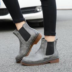 Donna PU Tacco spesso Stivali alla caviglia con Altrui scarpe