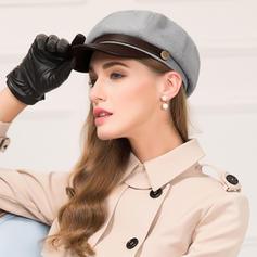 Dames Glamour/Élégante/Simple/Fantaisie Polyester Disquettes Chapeau