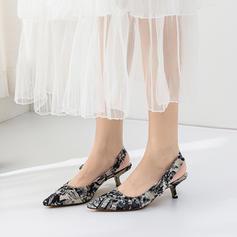 Women's Silk Like Satin Kitten Heel With Satin Flower Buckle shoes