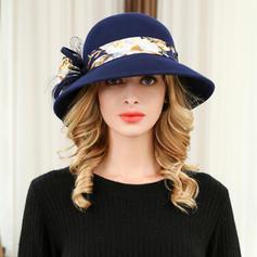 Dames Mode/Élégante Acrylique/de mélanges de laine Chapeau melon / Chapeau cloche