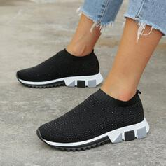 Unisex Fabric Casual Outdoor With Rhinestone shoes