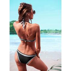 Driehoek Lage Taille Riem Halter Sexy Bikini's Badpakken