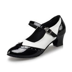 Women's Ballroom Character Shoes Heels Pumps Leatherette Modern