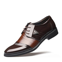 šněrovací Společenské boty Práce Koženka Pánské Pánská obuv Oxford