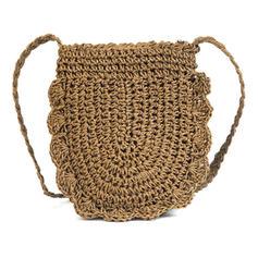 Femenino Paja Bolsos cruzados/Bolsas de playa/Bolsas de cubo