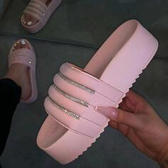 Bayanlar plastik maddeler Düz topuk Terlik ayakkabı