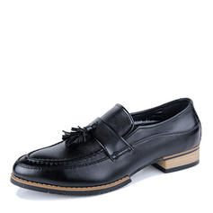 Men's Microfiber Leather U-Tip Tassel Loafer Casual Men's Loafers