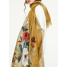 Floral/Retro/Vintage/Tassel Light Weight/Oversized/Shawls/attractive Scarf