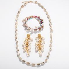 Exotic Shell Women's Body Jewelry (Set of 4)