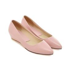 Жіночі Шкіра Танкетка Насоси взуття