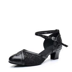 Női Bálterem Sarok Csipke -Val Boka szalag Alkalmi cipők