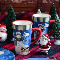 Boże Narodzenie Ceramiczny Codziennie okulary