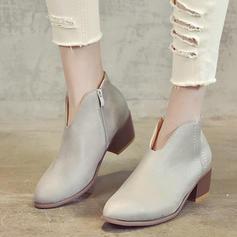 Femmes Suède Talon bas Sandales chaussures