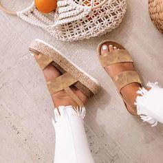Femmes PU Talon plat Plateforme avec Autres chaussures