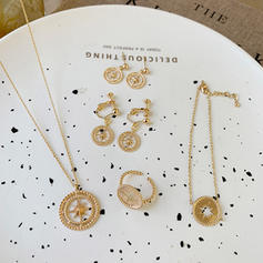 Unique Shining Chic Alloy Jewelry Sets (Set of 4)
