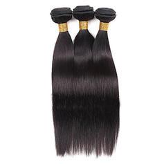4A Rovný Lidský vlas Vlnité pravé vlasy (Prodává se jako jeden kus) 50g