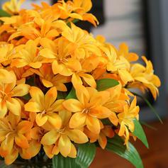 12'' Fleurs de lys Soie Bouquets