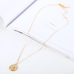 Flower Shaped Alloy Women's Necklaces (Sold in a single piece)