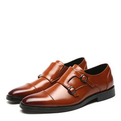 Monk-straps Zapatos de vestir Cuero Hombres Zapatos Oxford de caballero