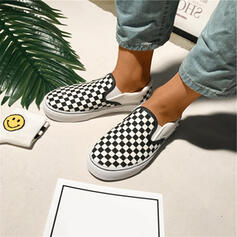 Unisex Canvas Casual Outdoor With Elastic Band shoes