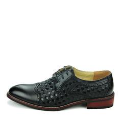Lace-up Dress Shoes Real Leather Men's Men's Oxfords