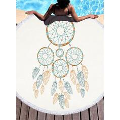 Dreamcatcher Boho Beach Towel