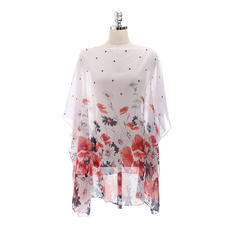 Floral Light Weight/fashion Beach Poncho