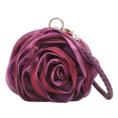 Unique Satin Wristlets/Bridal Purse