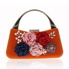 Elegant Velvet Clutches/Wristlets/Totes Bags/Bridal Purse/Fashion Handbags/Makeup Bags/Luxury Clutches