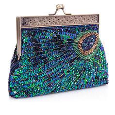 Unique Sparkling Glitter Clutches