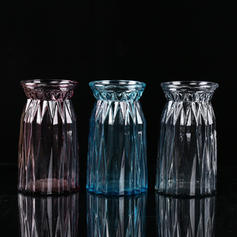 Décontractée Verre Vases De Table (Lot de 2)