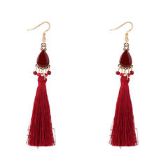 Unique Alloy With Tassels Women's Fashion Earrings