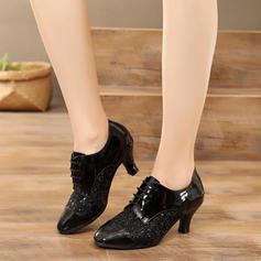 Women's Latin Modern Heels Leatherette Latin
