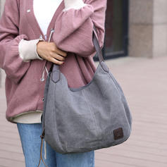 Jesienna specjalna ponadwymiarowa torba na ramię Na co dzień kobietowa płócienna torebka Torebka Nowa jesienna torebka damska