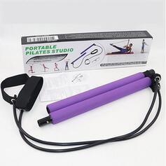 Gli sport Yoga Multifunzionale Acciaio inossidabile Kit per barra di Pilates