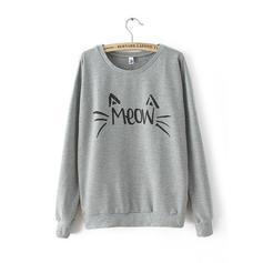 Cotton Print Sweatshirt