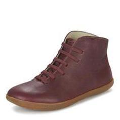 Kvinner PU Flat Hæl Flate sko Støvler Ankelstøvler med Blondér sko