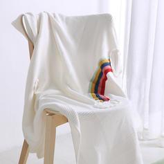 Super doux Coton Jeter des couvertures