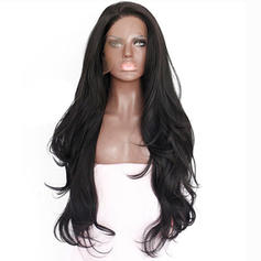 Kinky Straight Synthetic Hair Capless Wigs 340g