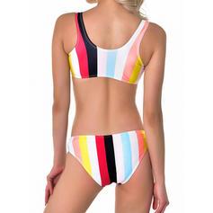 Splice color Strap Sexy Bikinis Swimsuits