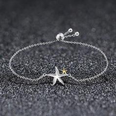 Mode silver Damer' Mode Armband