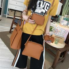 Classical PU Shoulder Bags/Bag Sets/Wallets & Wristlets