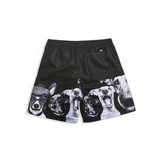 Men's Print Lined Board Shorts