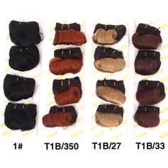 En vrac cheveux synthétiques Tissage en cheveux humains (Lot de 4) 60g