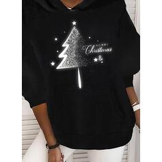 Wydrukować Φιγούρα Μακρυμάνικο Χριστουγεννιάτικο μπλουζάκι
